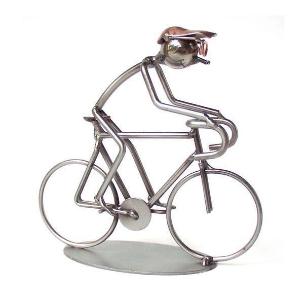 figurine miniature filaire -vélo de course-