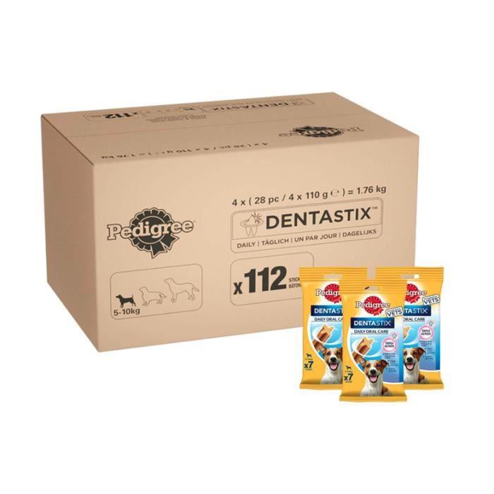 Pedigree Dentastix - Soins dentaires quotidiens à mâcher, friandises pour petits chiens de 5 à 10 kg