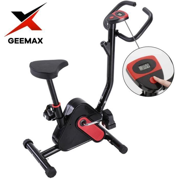 Vélo d'appartement Bras Jambes Ecran LED Musculation Entrainement Fitness Maison Charge MAX 120KG