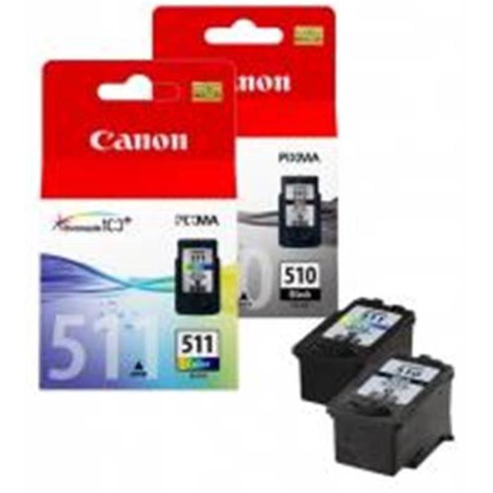CANON Cartouche d encre PG-510 / CL-511 noir et couleurs