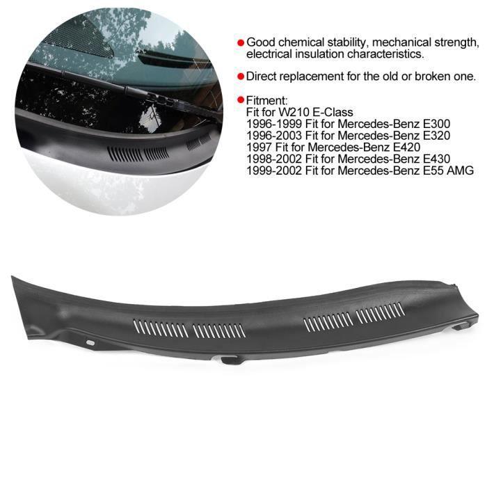 GOL-Lv.life☀Couvercle De Déflecteur D'Écran De Capot D'Essuie-Glace Pour Mercedes-Benz Classe E E300 E320 E420 E55 Amg(Droite )☀