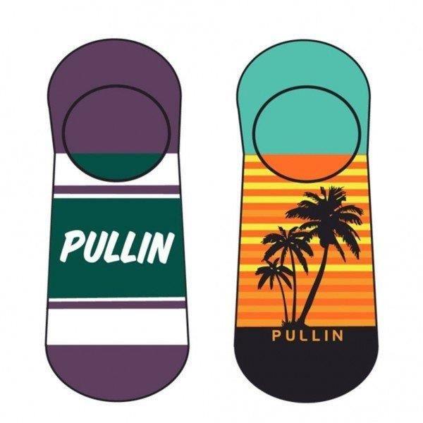 PULL IN Lot de 2 paires de Socquettes Adulte Coton SONNY Vert Orange