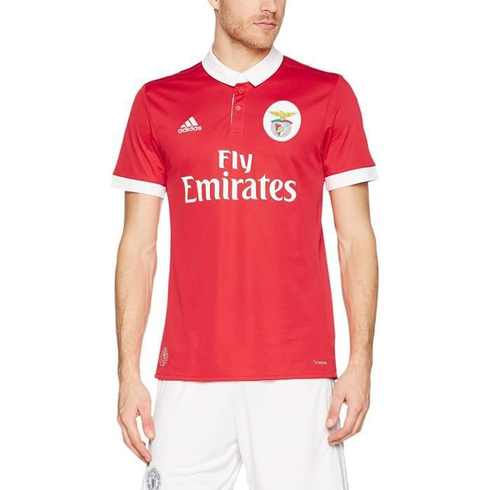 Adidas Maillot Football Benfica Domicile Rouge Homme