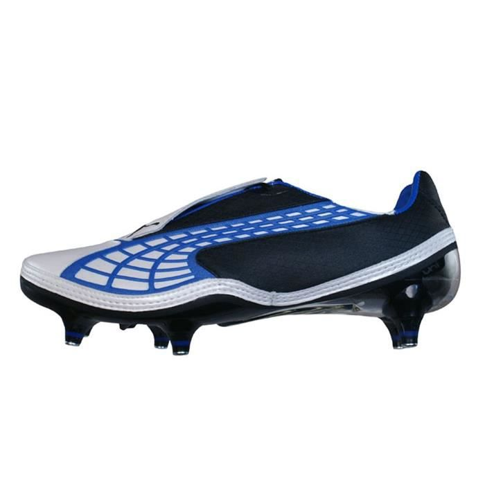 Chaussures De Running PUMA XSD00 V1.10 SG Football s / Crampons - White & Blue Taille-39