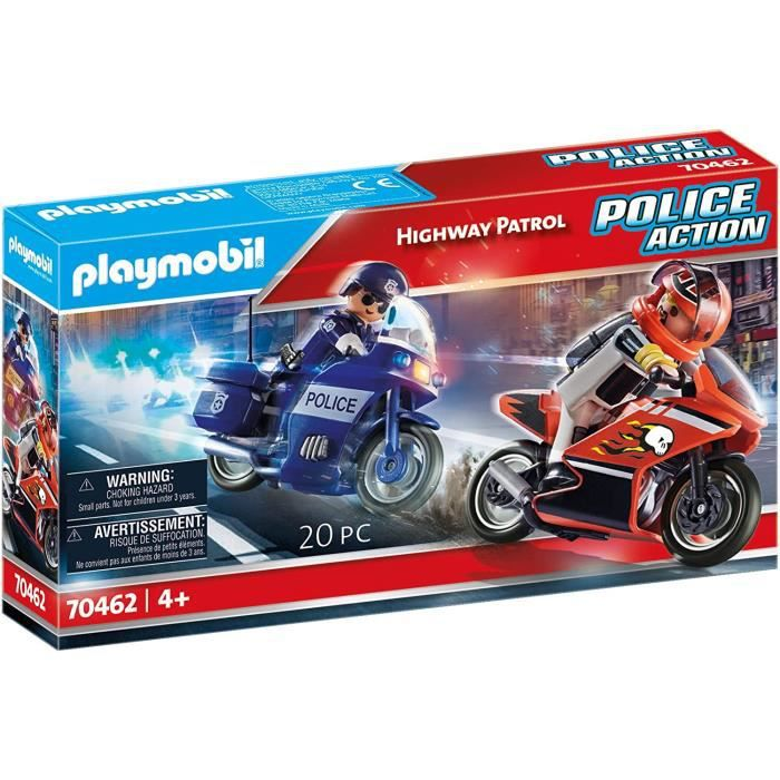 PLAYMOBIL 70462 POLICE ACTION