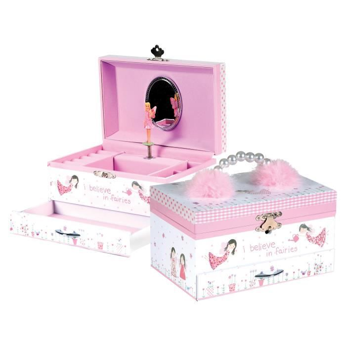Fairy Blossom Musical Jewellery Box