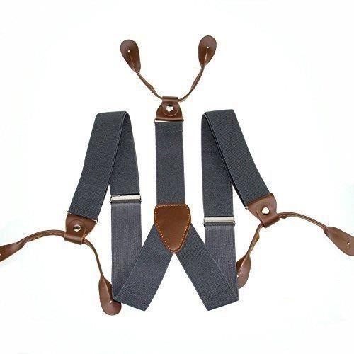 25mm Large enfants bretelles lycra - spandex Buton trou ajustable élastique pantalon short jeans bretelles pour garçons y-ar(TS6206)