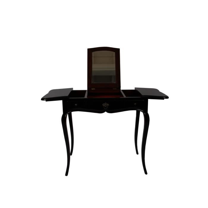 meuble coiffeuse console amandine achat vente coiffeuse meuble coiffeuse console. Black Bedroom Furniture Sets. Home Design Ideas