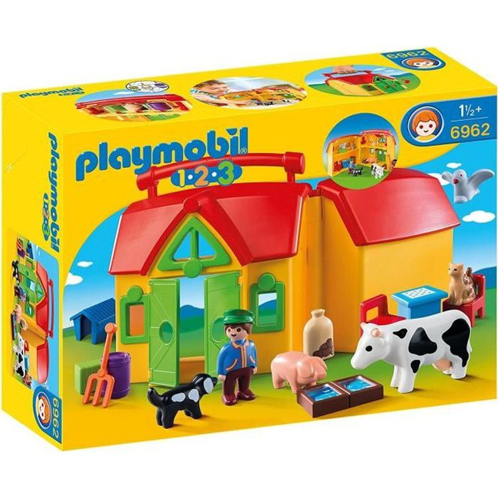 animaux ferme playmobil achat vente jeux et jouets pas. Black Bedroom Furniture Sets. Home Design Ideas