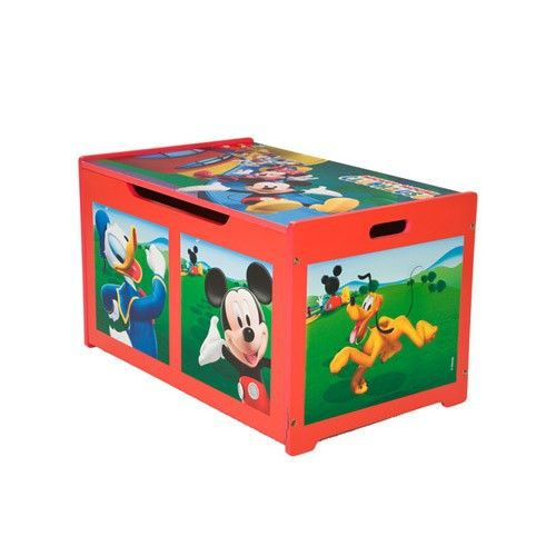 mickey club house coffre a jouets achat vente mickey club house coffre a j cdiscount