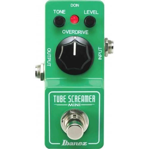 BOITIER EFFET Ibanez Tube Screamer Mini  - Overdrive guitare