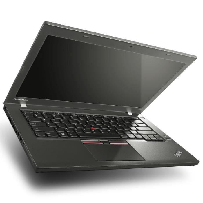 ORDINATEUR PORTABLE Lenovo ThinkPad T450 - 4Go - 128Go SSD