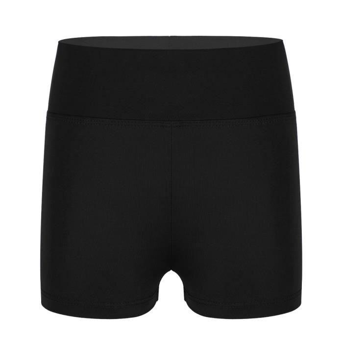 inlzdz Adolescentes Soutiens-Gorge Sport Dance Yoga Enfant Fille Coton Ensemble Brassi/ères Bra et Slip Short Gymnastique Running Sportwear Dancewear