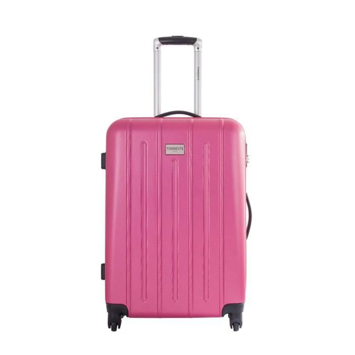 torrente valises femme valise 70cm onciale fushia achat vente valise bagage torrente. Black Bedroom Furniture Sets. Home Design Ideas