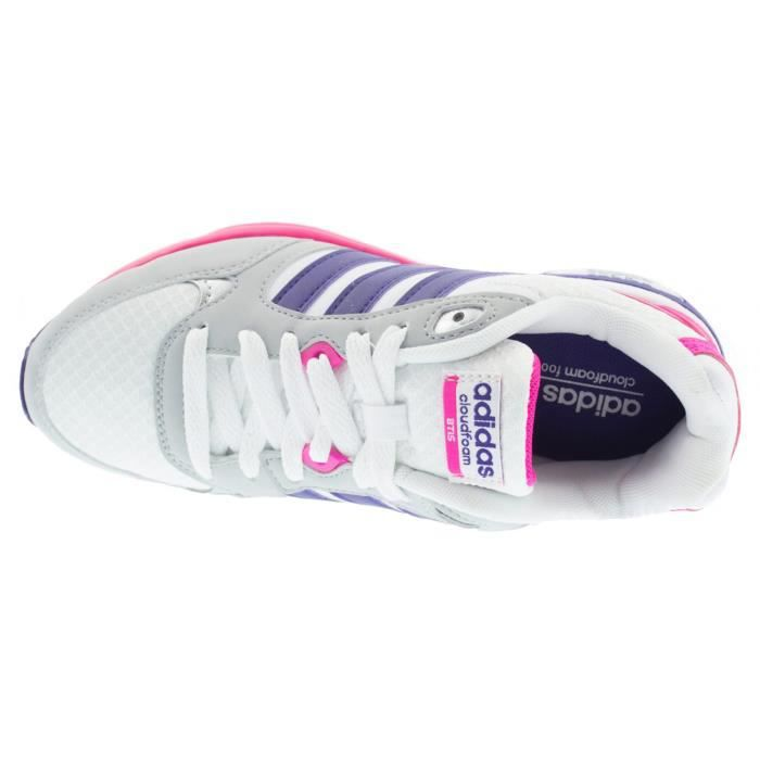 ADIDAS Cloudfoam 8Tis Chaussure Unisexe - Taille 38 2-3 - BLANC