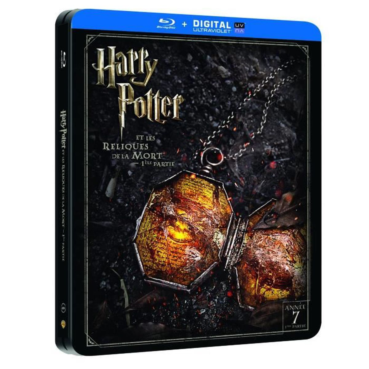 blu ray harry potter les reliques de la mort en blu ray film pas cher cdiscount. Black Bedroom Furniture Sets. Home Design Ideas
