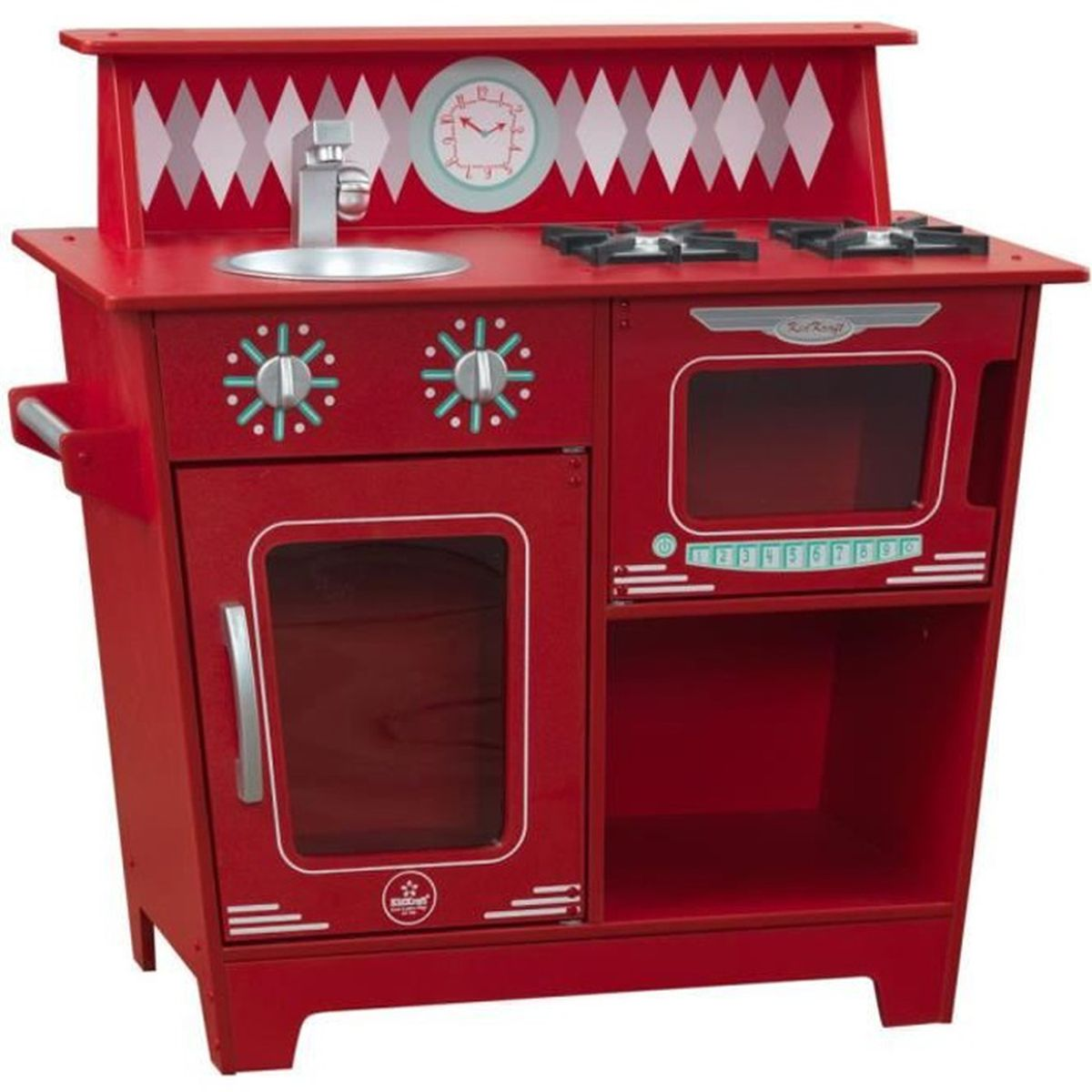cuisine enfant rouge achat vente dinette cuisine cdiscount. Black Bedroom Furniture Sets. Home Design Ideas