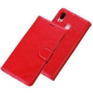 COQUE - BUMPER Huawei P20 Lite Étui,Portefeuille Couleur Uni Hous