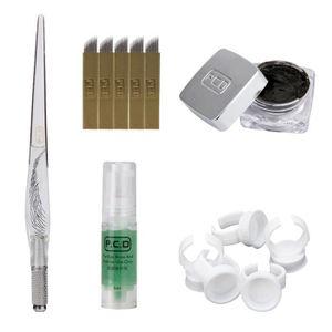 AIGUILLE DE TATOUAGE Microblading Semi-Permanent 3D maquillage sourcils
