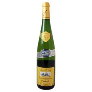 VIN BLANC Vin d'Alsace Gewurztraminer millésimé 2012 Dietric