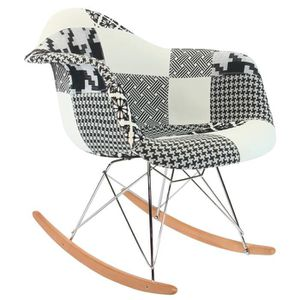 CHAISE Chaise Privee® - Chaise RAR Patchwork - (Patchwork
