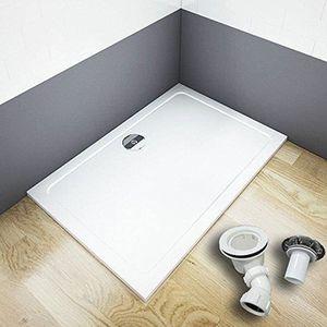 RECEVEUR DE DOUCHE Receveur de douche 80x120cm avec bonde de douche e