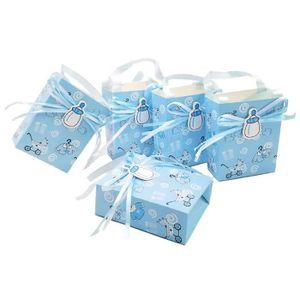 12 Arc en Ciel à Rayures Enfants Nourriture Repas Boîte Fête D/'Anniversaire Sac Cadeau Boîtes