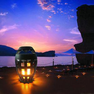 ENCEINTE NOMADE Wotumeo Flamme Atmosphère Lampe Lumière Bluetooth
