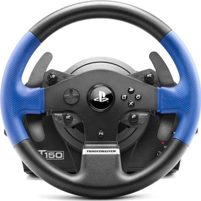 thrustmaster t150 rs pour ps4 et ps3 achat vente volant console thrustmaster t150 rs. Black Bedroom Furniture Sets. Home Design Ideas