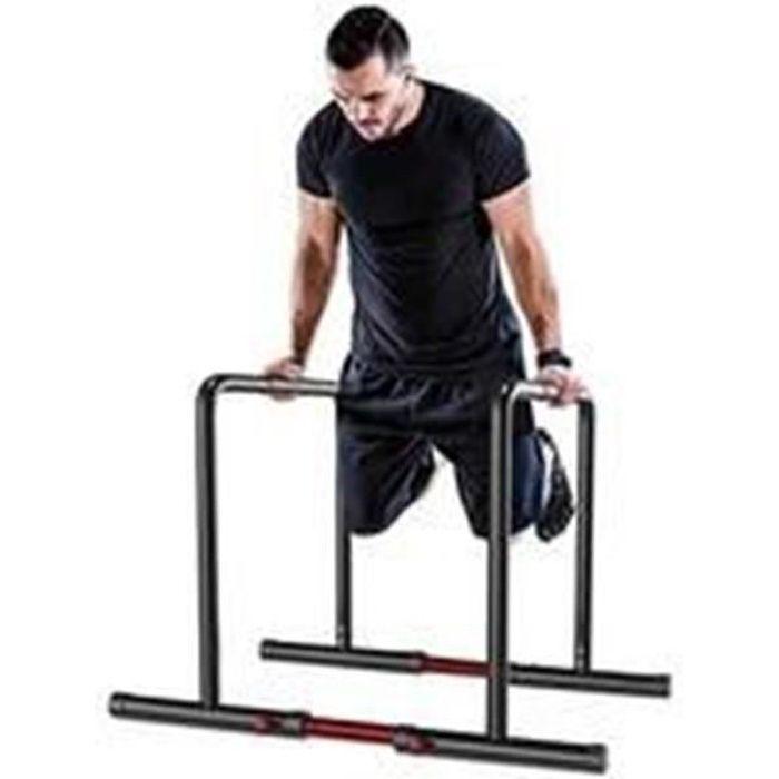 YOLEO Noir Barres parallèles barres de musculation barres à dips à domicile