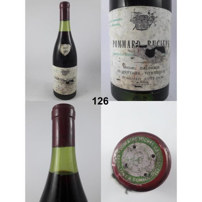 Pommard - Michel Gaunoux 1947 - N° : 126, Pommard, Rouge