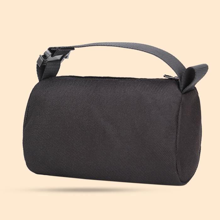 Black -Sac de repos en Nylon non rempli pour fusil de Sniper, sac de sable Portable pour Camping, éléments d'extérieur pour le ti