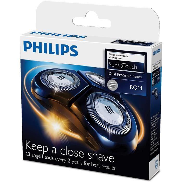 Rasoirs électriques et accessoires Philips RQ11-50 Têtes de rasage compatibles avec rasoirs Sensotouch 2D 63073