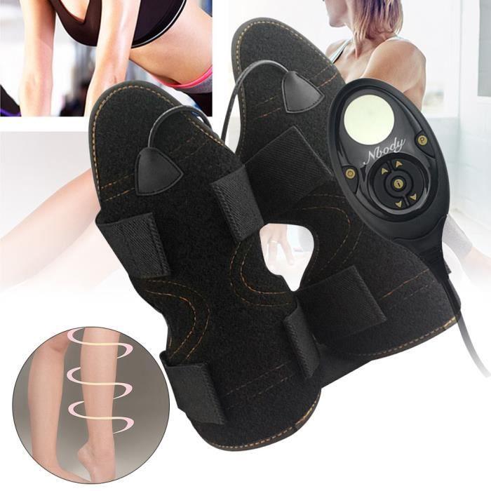 CEINTURE D'ELECTROSTIMULATION,1 paire bras minceur ceinture maison cuisse veau perte de poids sport accessoires EMS Vibration