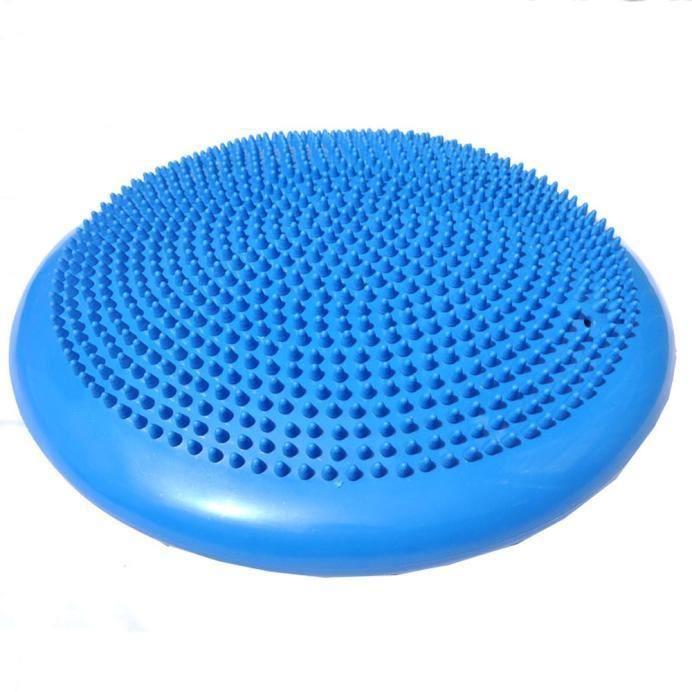 Un coussin d'équilibre de disque de stabilité Wobble Cushion Cheville Knee Board BU Miaienu 251