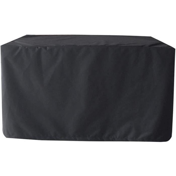 Housses de Meubles de Patio extérieur 260 × 130 × 75 cm Housse de canapé sectionnelle d'extérieur Housse de Table rectangulaire Hous