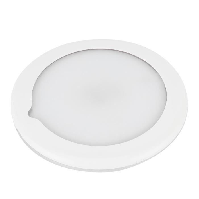 Zerone Lumière de toit de bateau Plafonnier de Toit 5,9 po Lampe Intérieure Réglable à Gradation Tactile IP67 Étanche pour