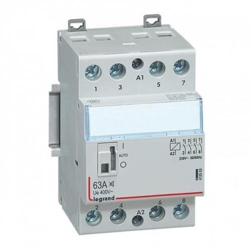 contacteur legrand cx3 40a 4 contacts nf bobine 230 volts - silencieux