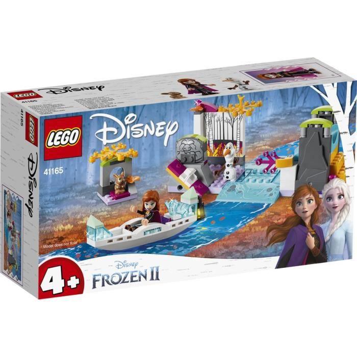 LEGO® l Disney La Reine des neiges 2 - 41165 - L'expédition en canoë d'Anna