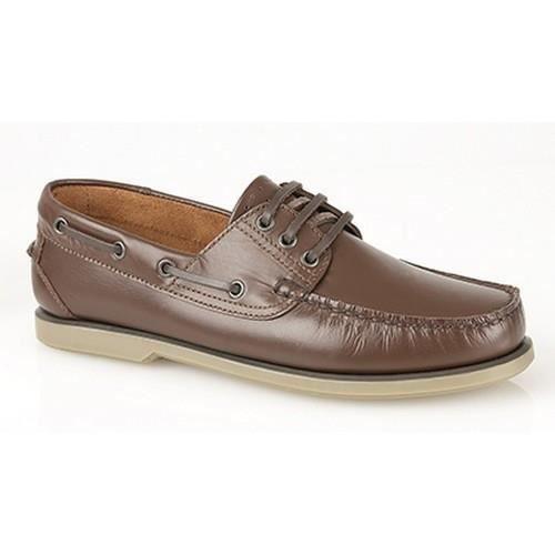 Dek - Chaussures bateau - Homme Marron