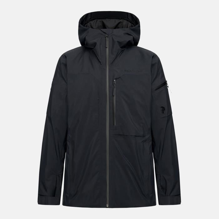 Veste De Ski/snow Peak Performance M Alpine 2l Jacket Black Homme