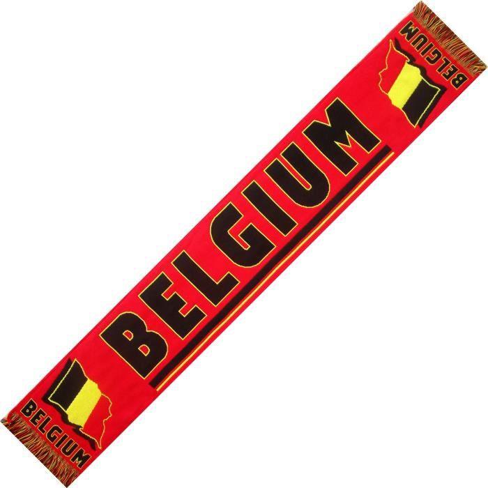 ECHARPE BELGIQUE BELGIUM No drapeau maillot fanion casquette ...