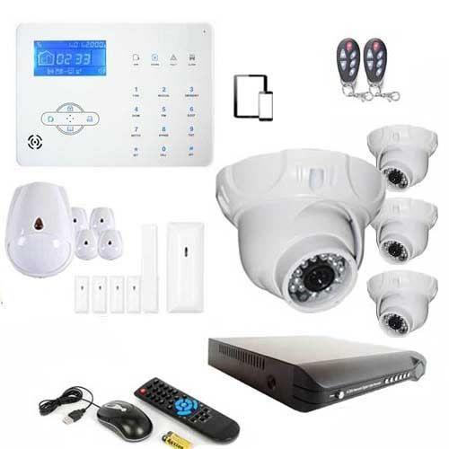Alarme maison sans fil GSM et vidéosurveillance