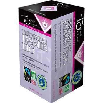 Touch Organic The vert BIO au jasmin 24 sachets…