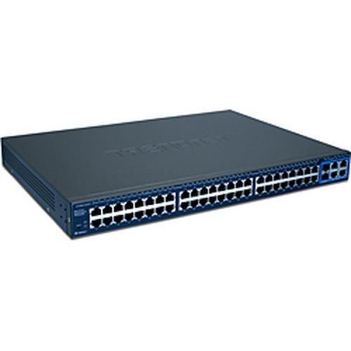 Trendnet 52-Port Gigabit Web Smart Switch , Commutateur de réseau géré, Full duplex