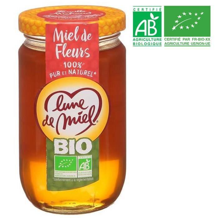 Miel de fleurs - Bio - 375g