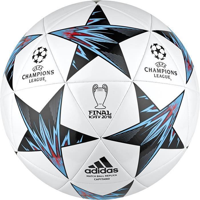 Jadeo Oferta colina  Ballon adidas Finale Kiev 2018 - rouge solaire/noir/noir/orange intense -  Taille 5 - Prix pas cher - Cdiscount