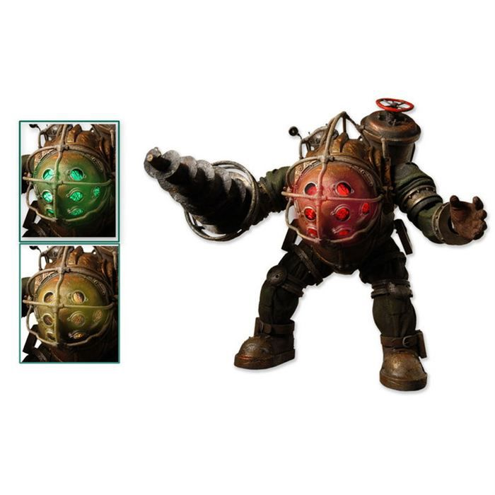 Bioshock ii figurine big daddy elite bouncer 20cm achat for Big daddy s antiques