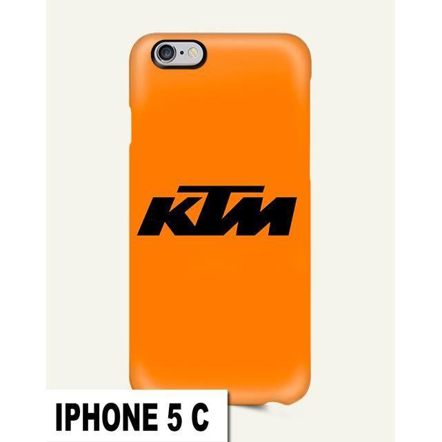 coque iphone 5c ktm moto