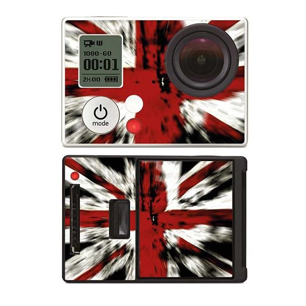 skin stickers pour gopro hero 3 sticker drapeau anglais. Black Bedroom Furniture Sets. Home Design Ideas
